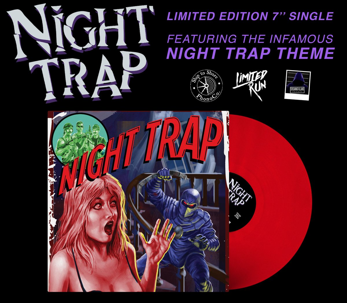 Night Trap - Red Vinyl