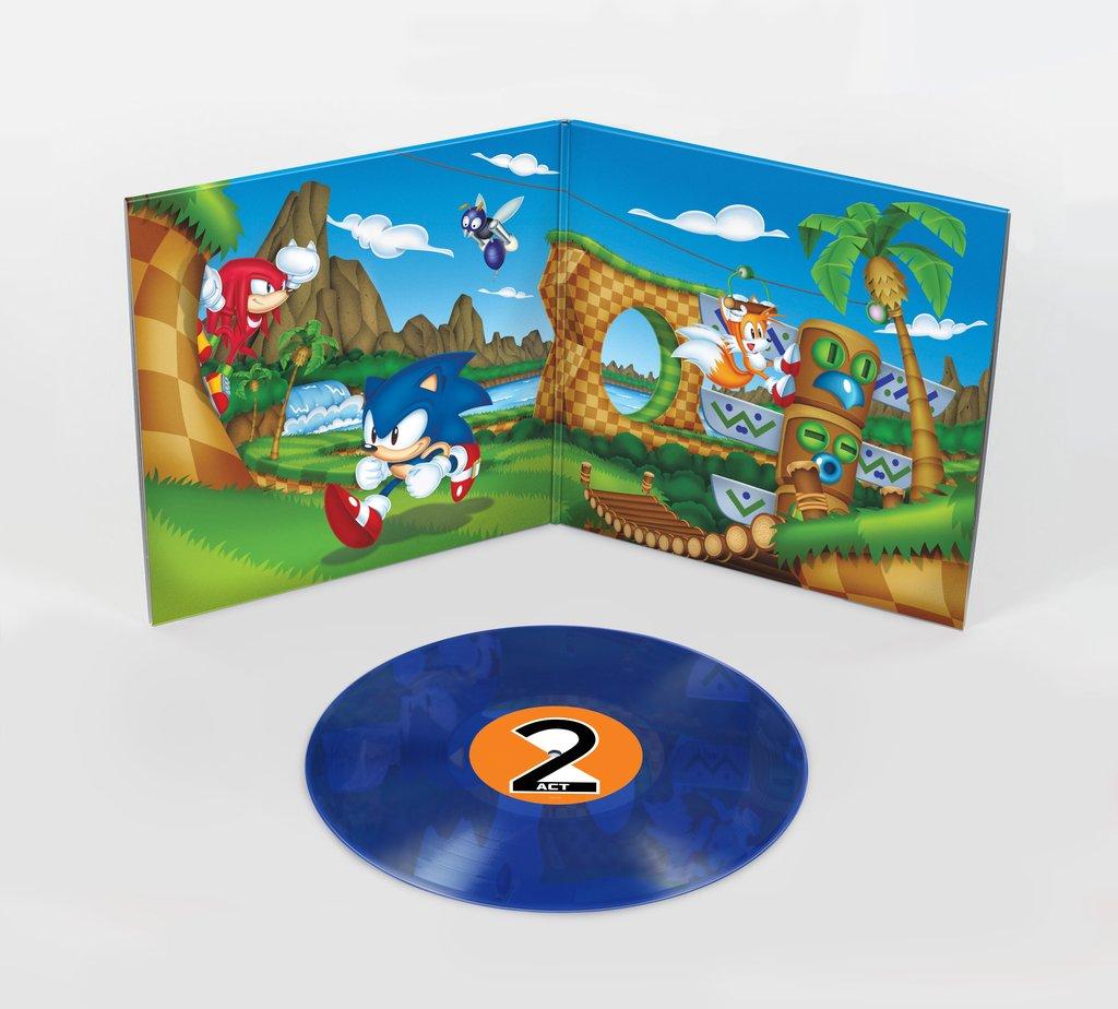 Sonic Mania - Gatefold + Blue Vinyl