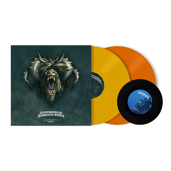 Oddworld: Stranger's Wrath - Yellow/Orange Vinyl