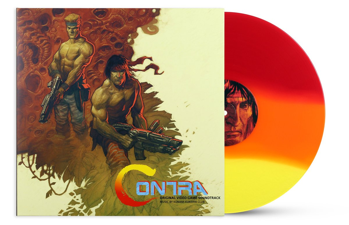 Contra - Front + Record (SDCC Variant)