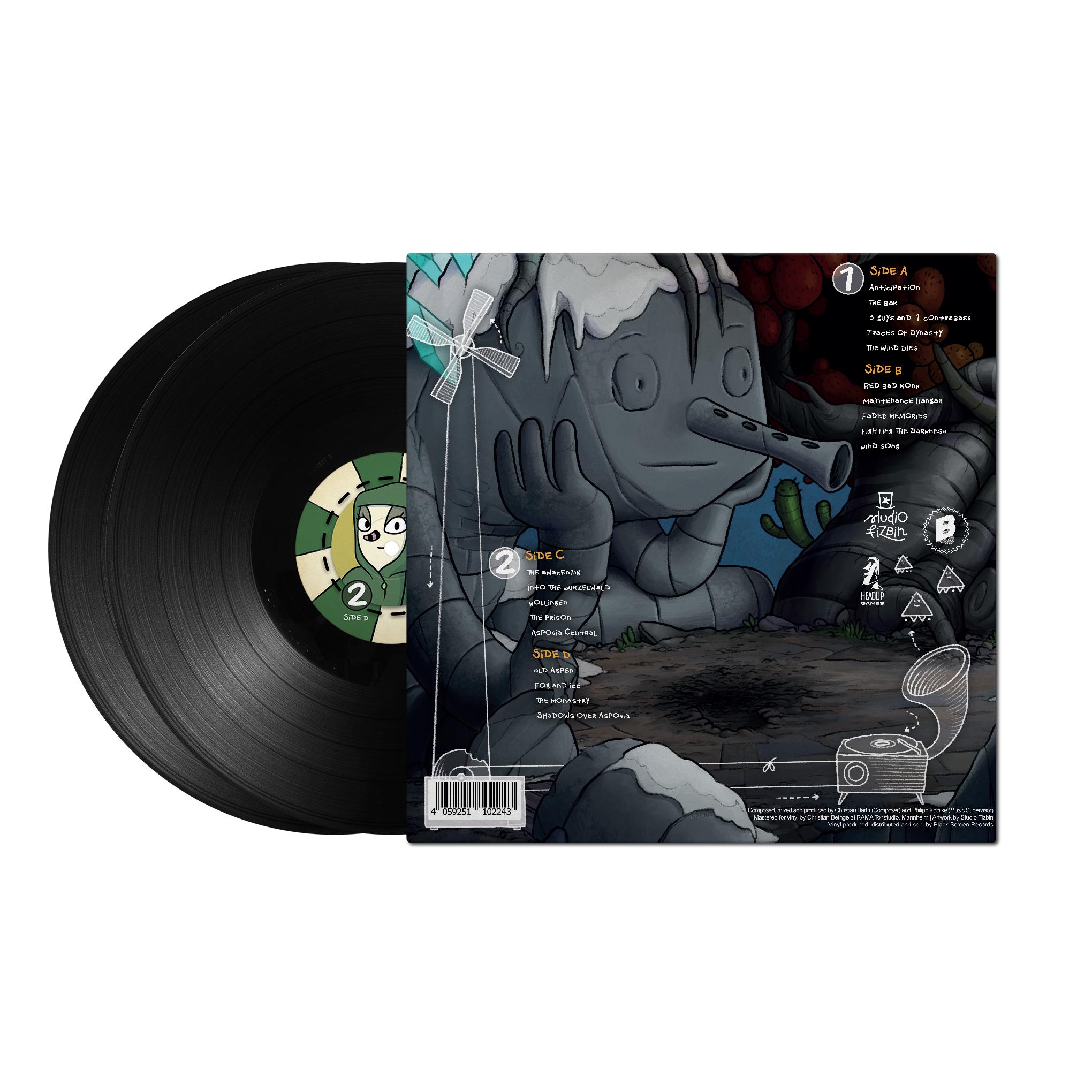 The Inner World - Back Cover + Black Records