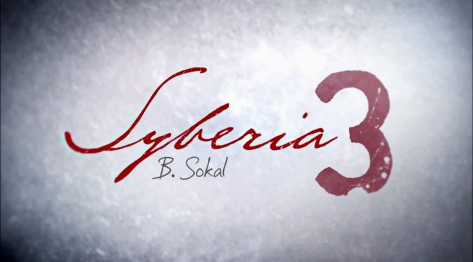 Black Screen Records bringing the Syberia 3 OST to vinyl
