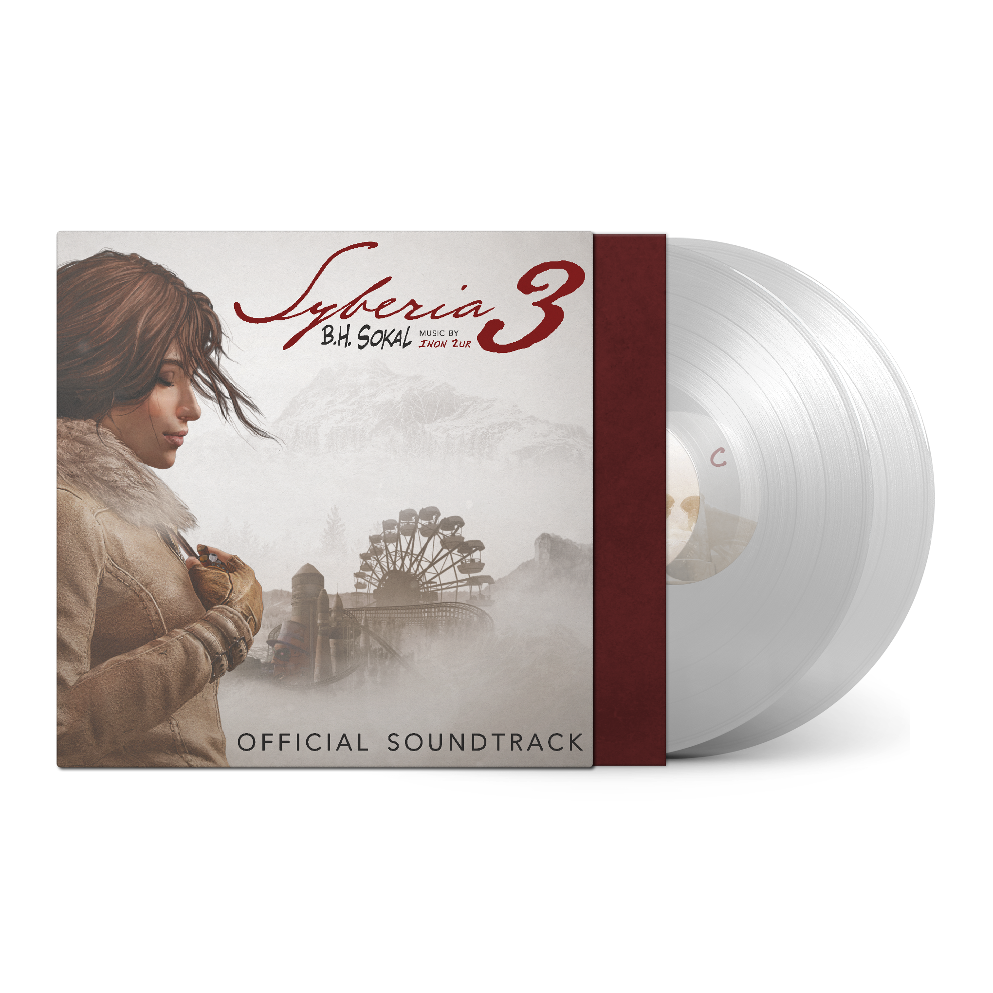Syberia 3 - Front + White Records