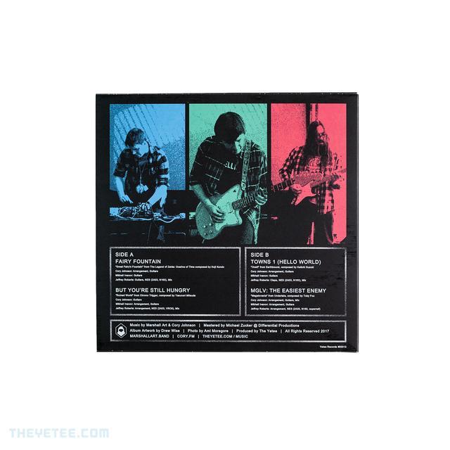 Timeline EP - Back Cover
