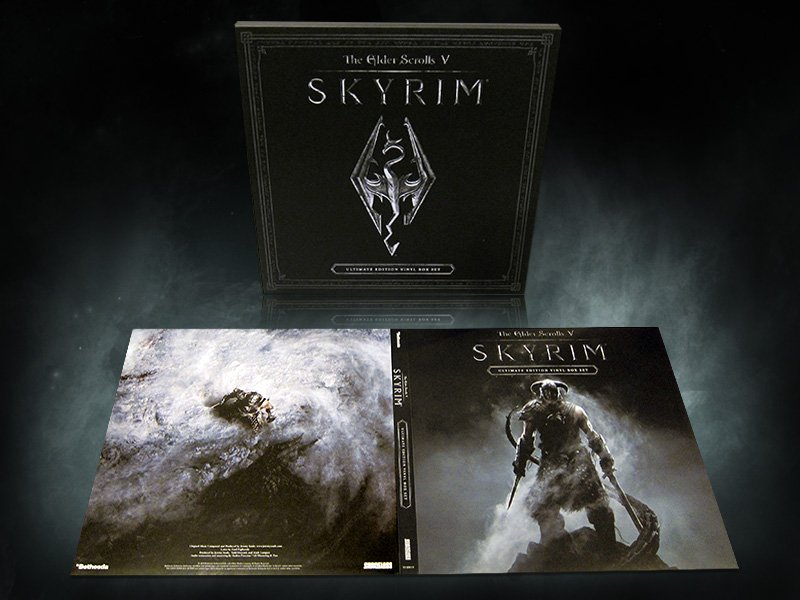 The Elder Scrolls V: Skyrim - Box & Jacket