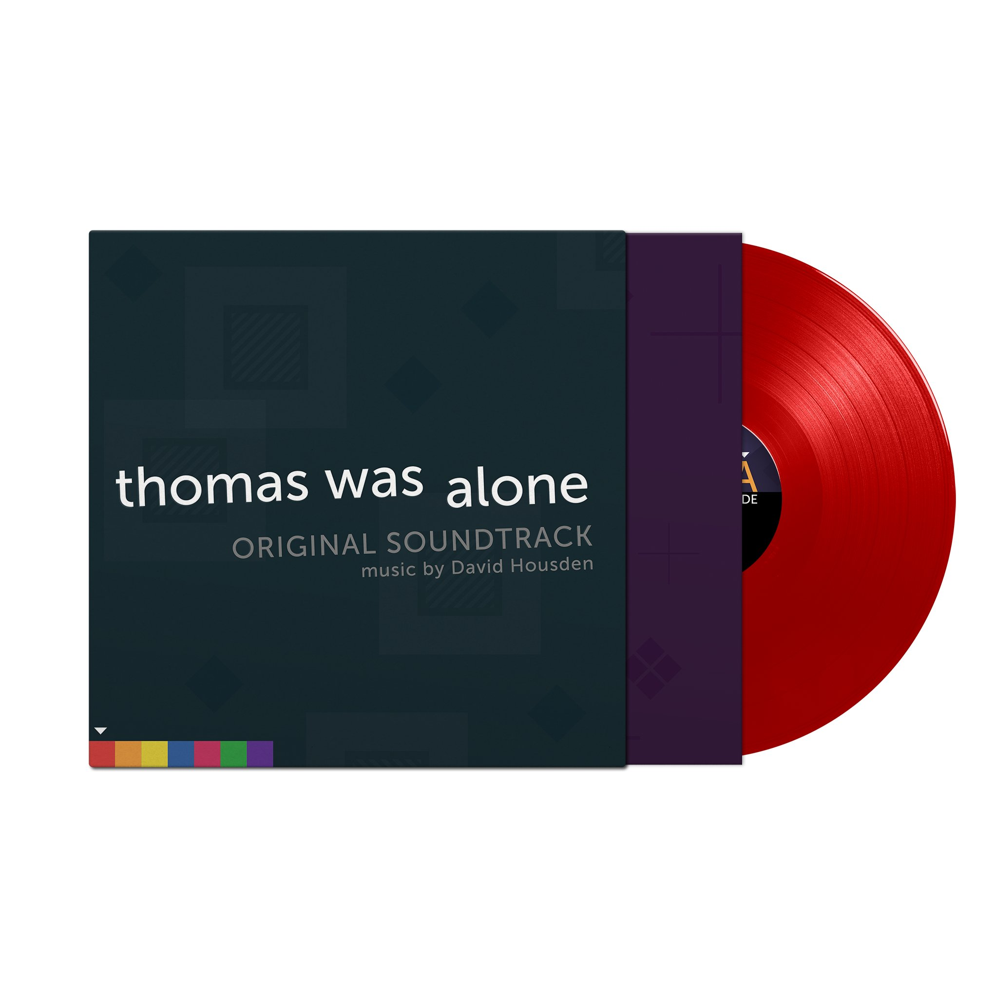 Thomas Was Alone - Front + Record