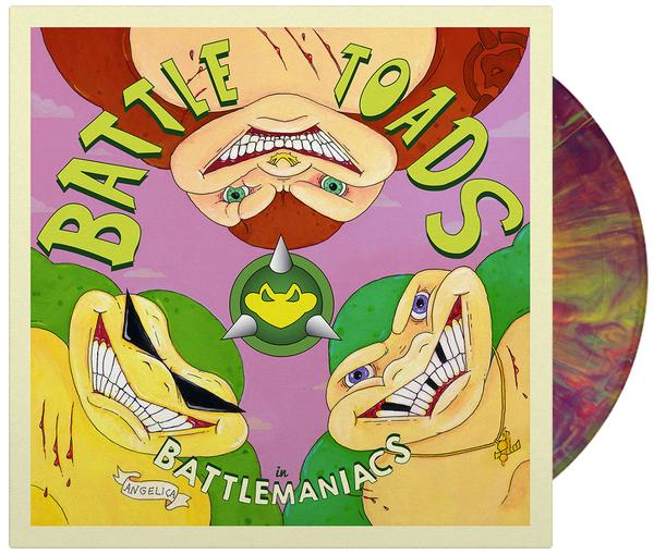 Battletoads In Battlemaniacs - Front