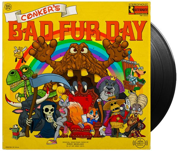 Conker's Bad Fur Day - Front & Record