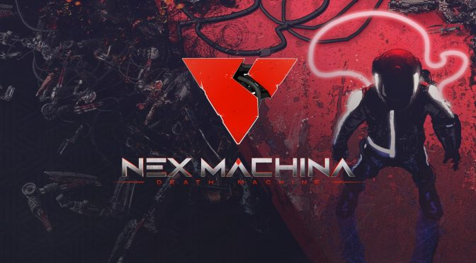 Limited Run Games to sell a Nex Machina 2LP soundtrack