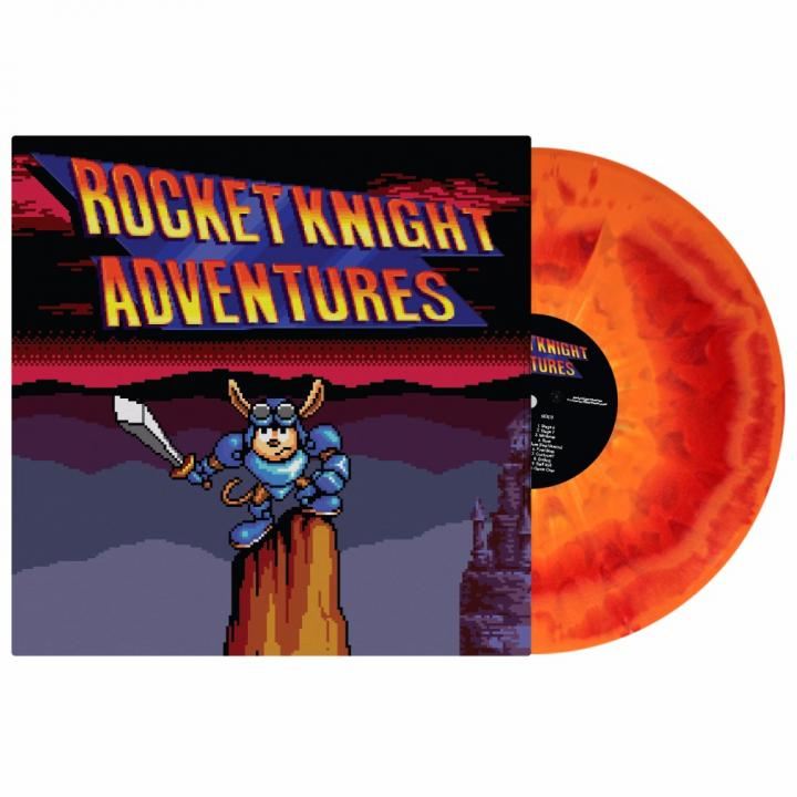 Rocket Knight Adventures - Front + Record