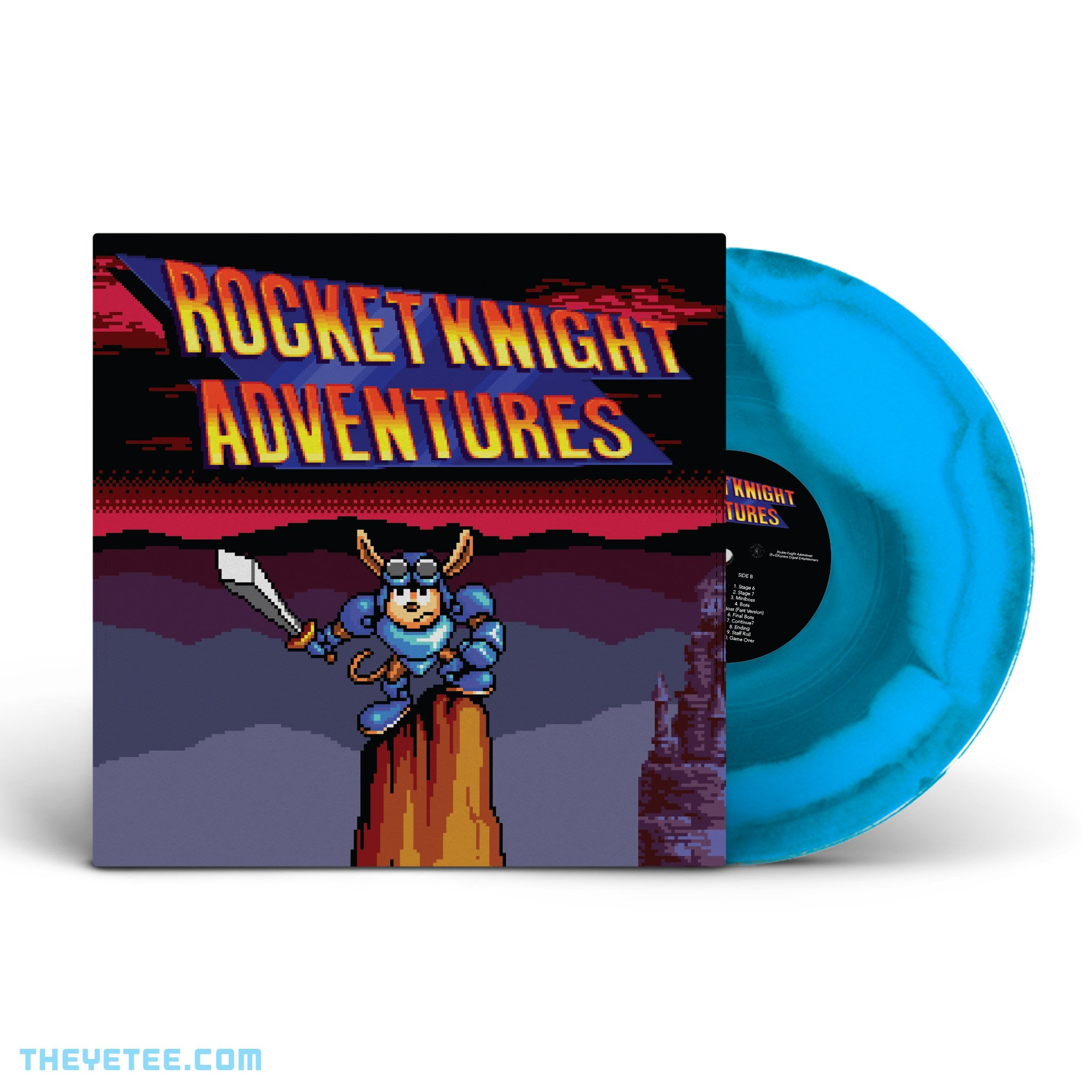 Rocket Knight Adventures - Yetee Variant