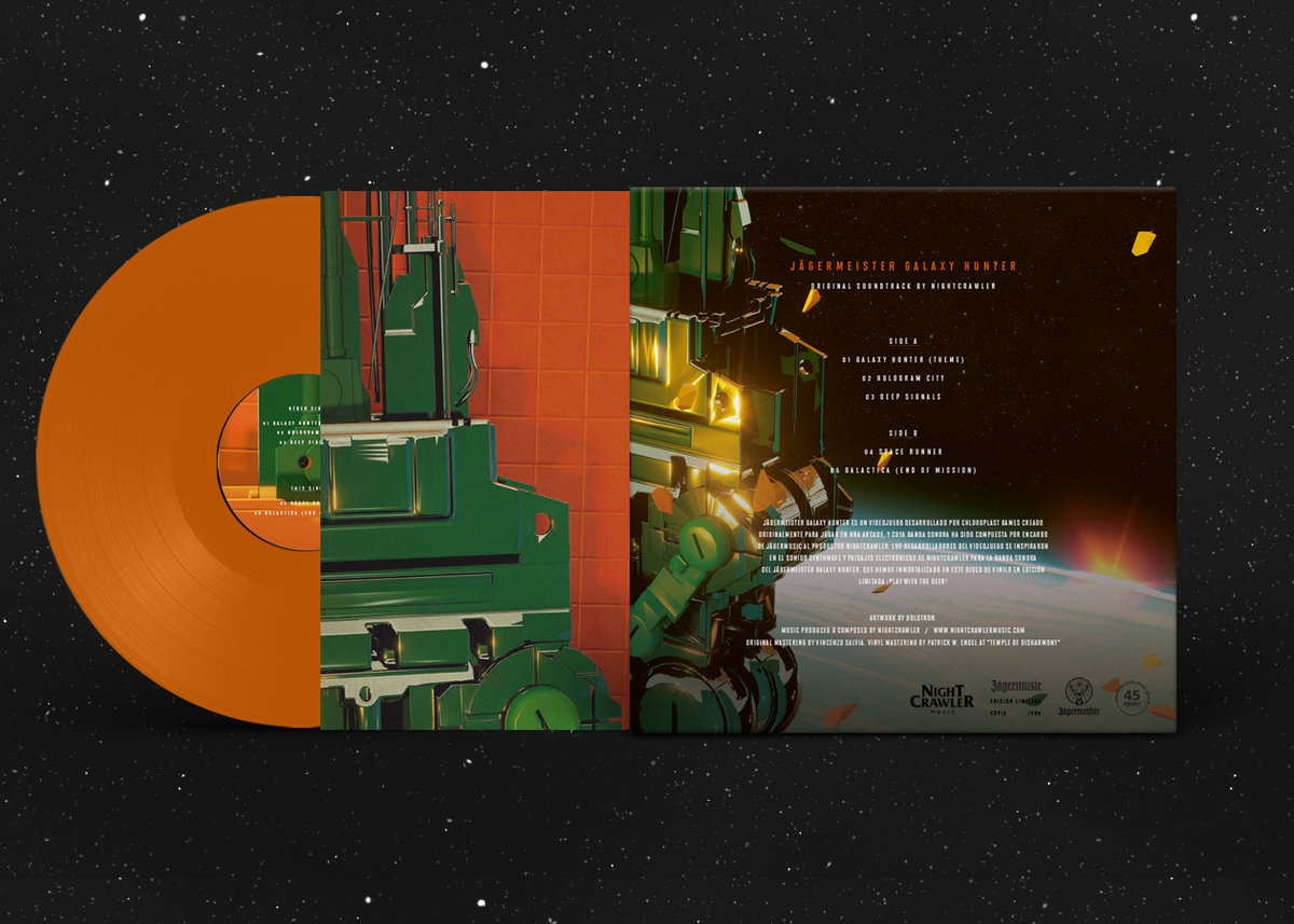 Jägermeister Galaxy Hunter - Back + Orange Vinyl