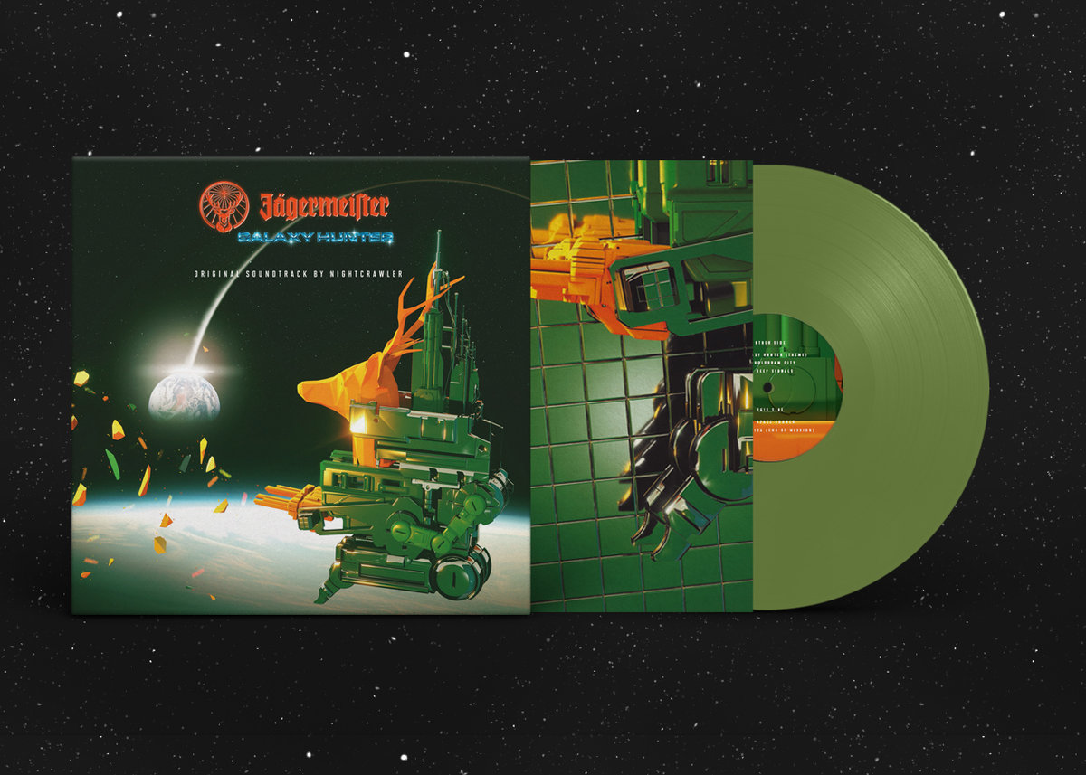 Jägermeister Galaxy Hunter - Front + Green Vinyl