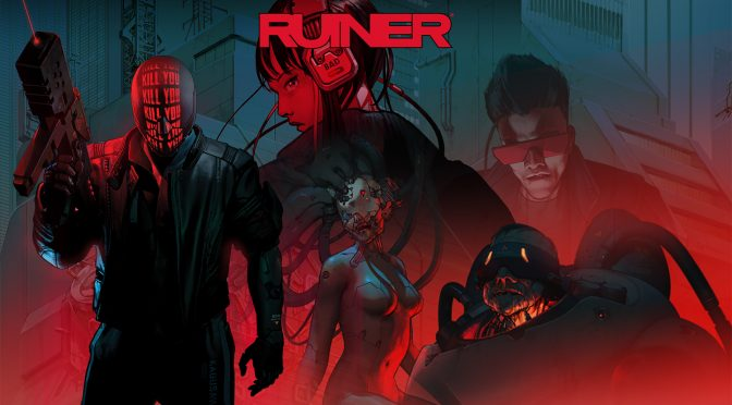 Laced Records releasing the soundtrack to Ruiner on vinyl