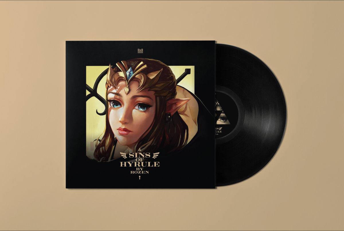 Sins Of Hyrule - Mockup