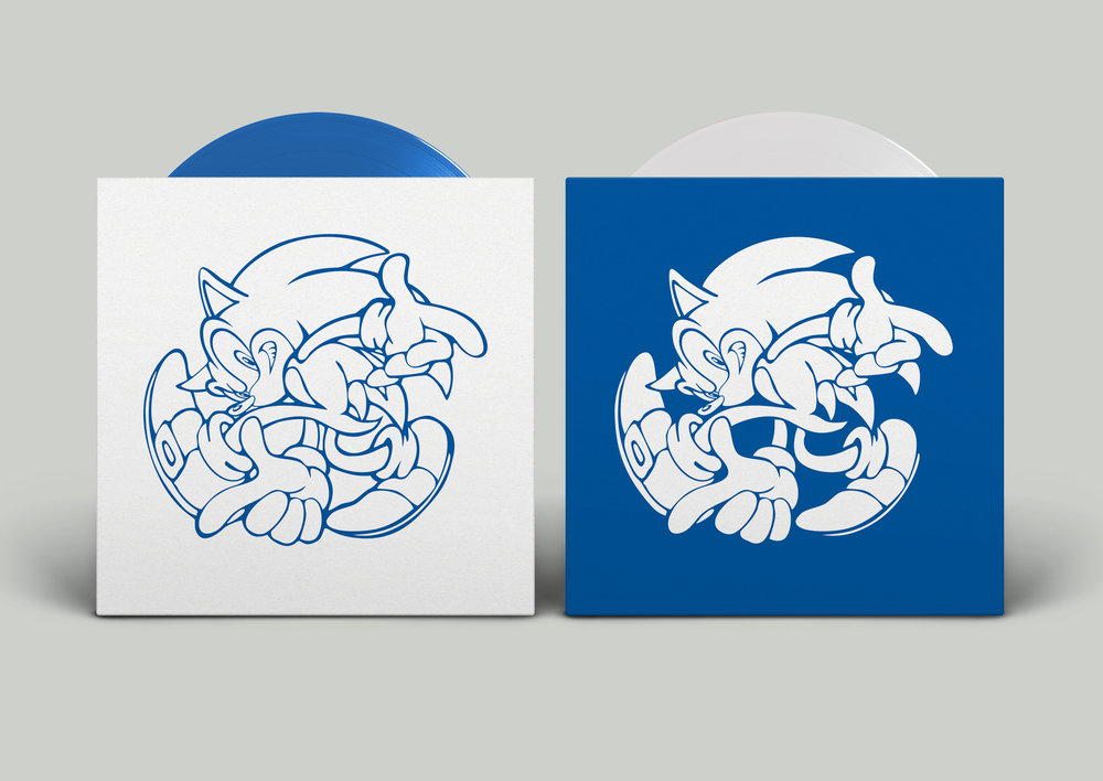 Sonic Adventure - Printed Sleeves