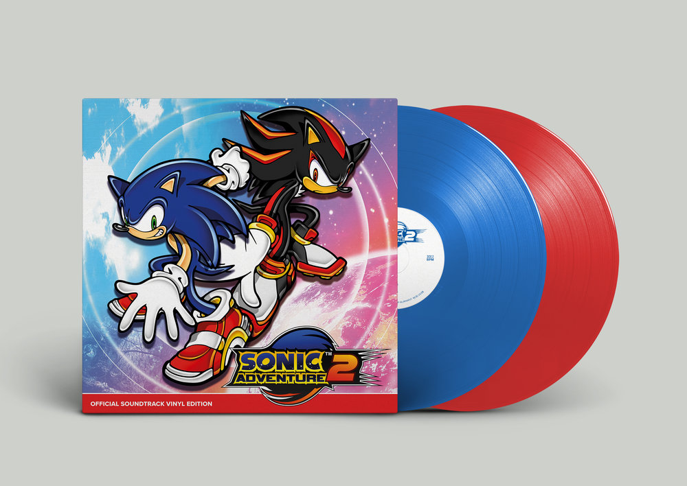Sonic Adventure 2 - Front & Records