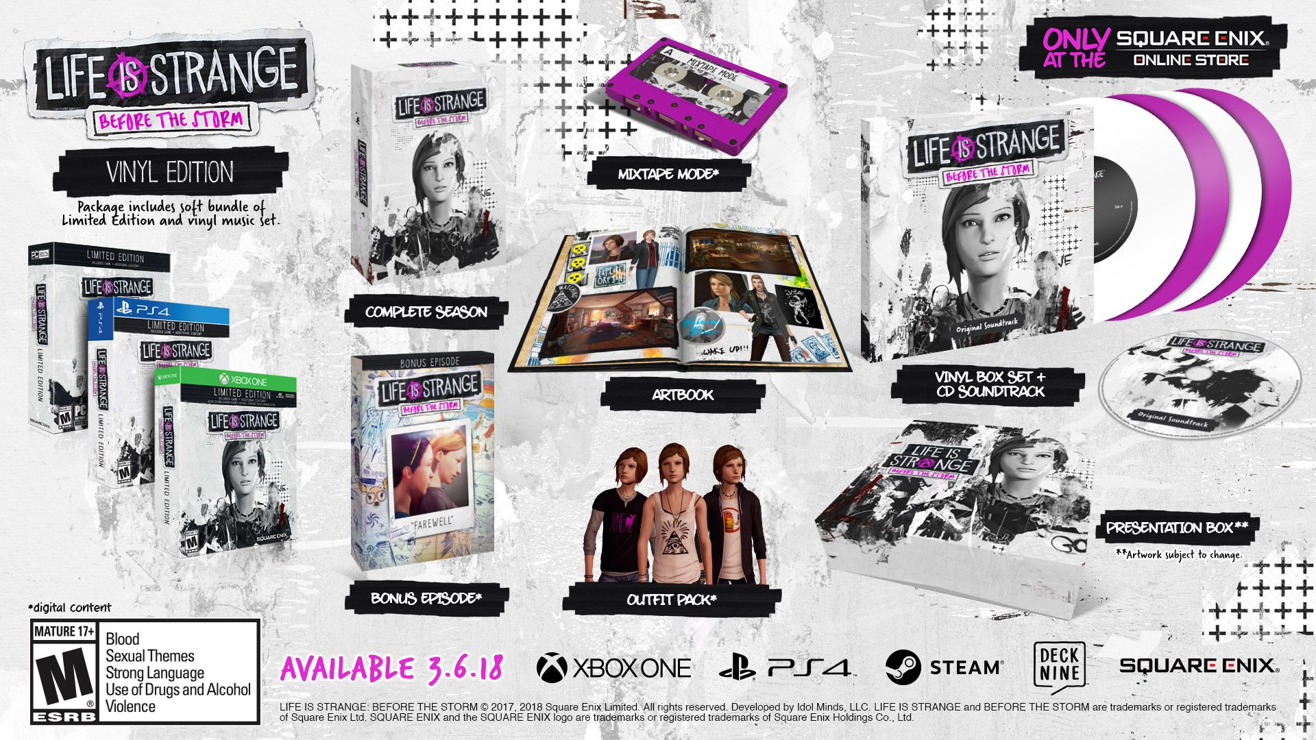 Life Is Strange: Before The Storm - Mockup