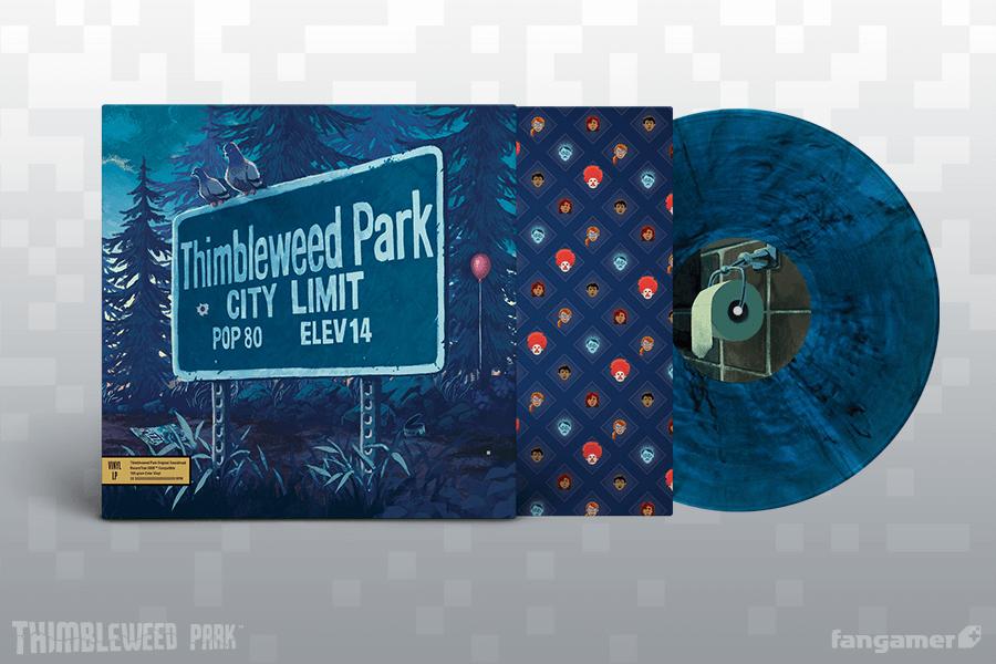 Thimbleweed Park - Front + Vinyl