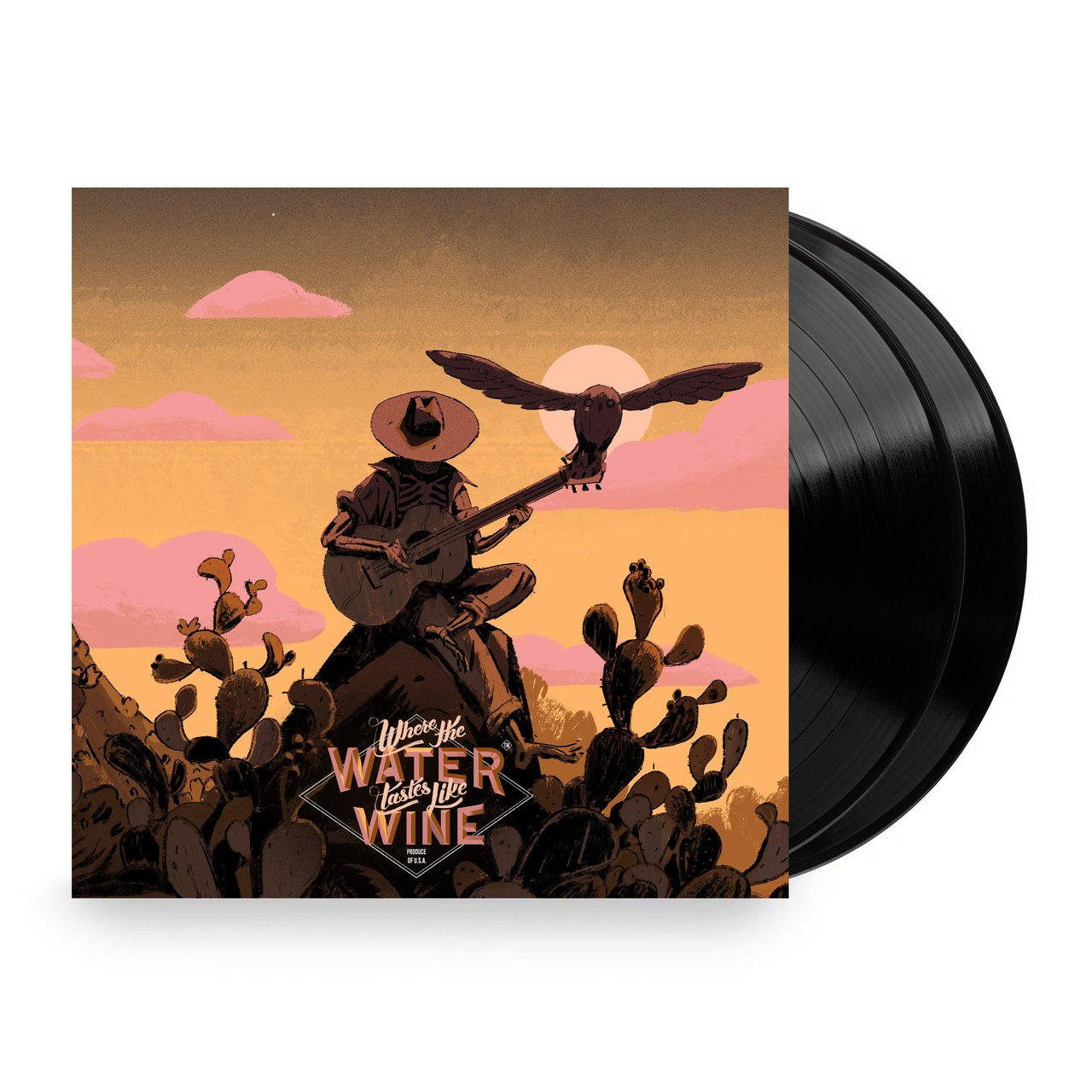 Where The Water Tastes Like Wine - Front