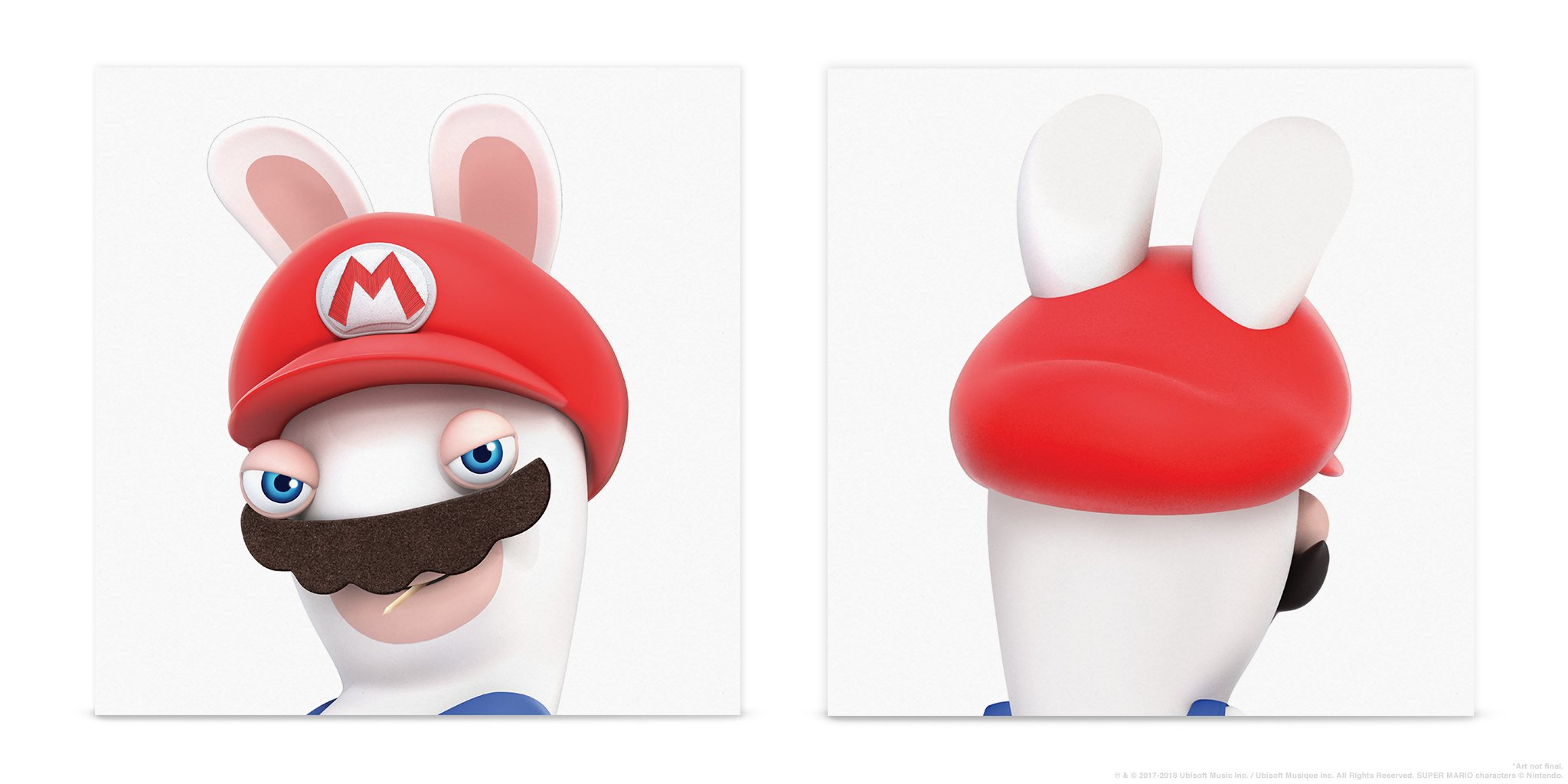 Mario + Rabbids Kingdom Battle - Cover