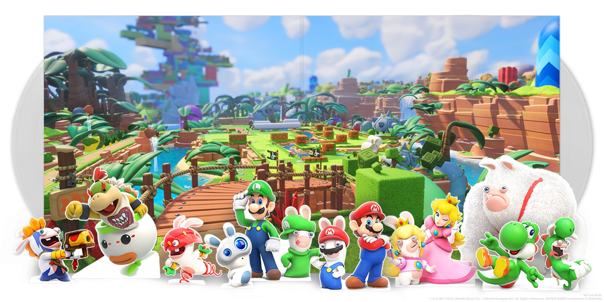 Mario + Rabbids Kingdom Battle - Gatefold