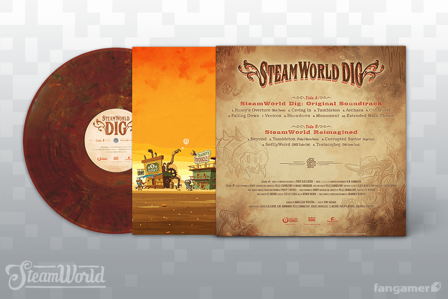 SteamWorld Dig - Back