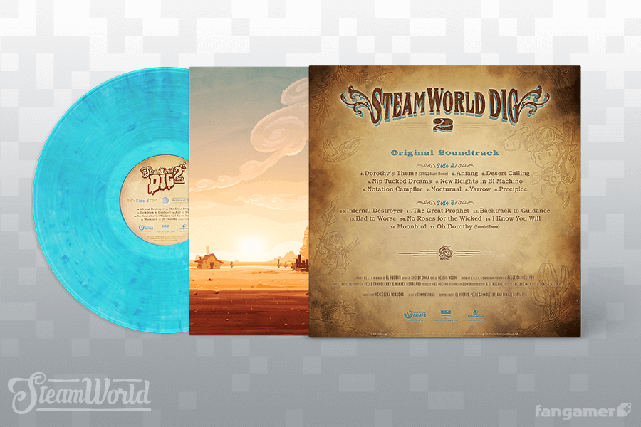 SteamWorld Dig 2 - Front