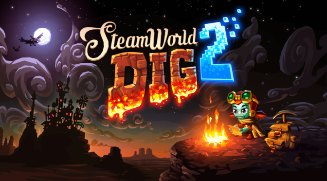 SteamWorld Dig 1 & 2 OST LPs are now available from Fangamer