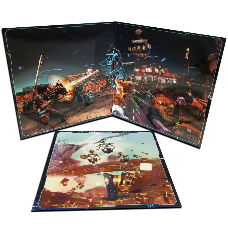 Borderlands: The Pre-Sequel! Claptastic Voyage - Gatefold
