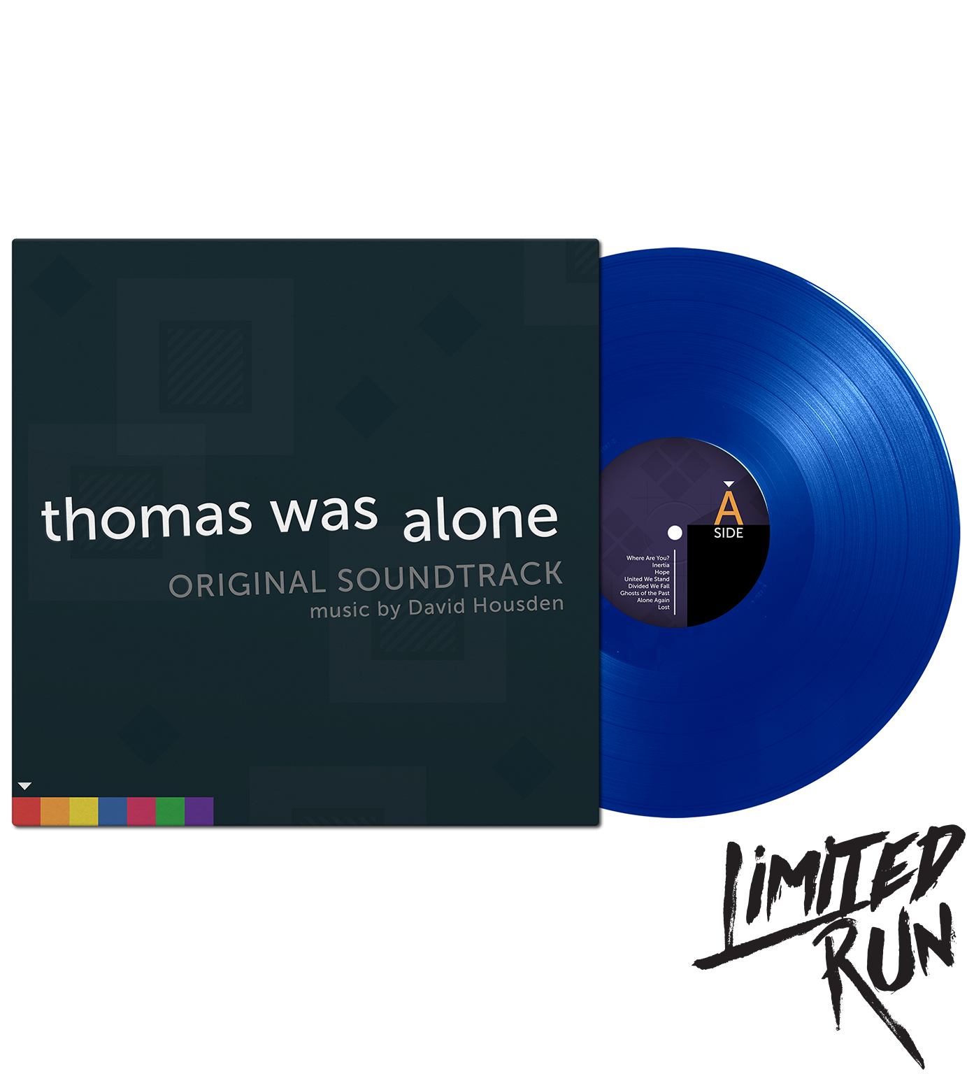 Thomas Was Alone - Front (Blue Vinyl)
