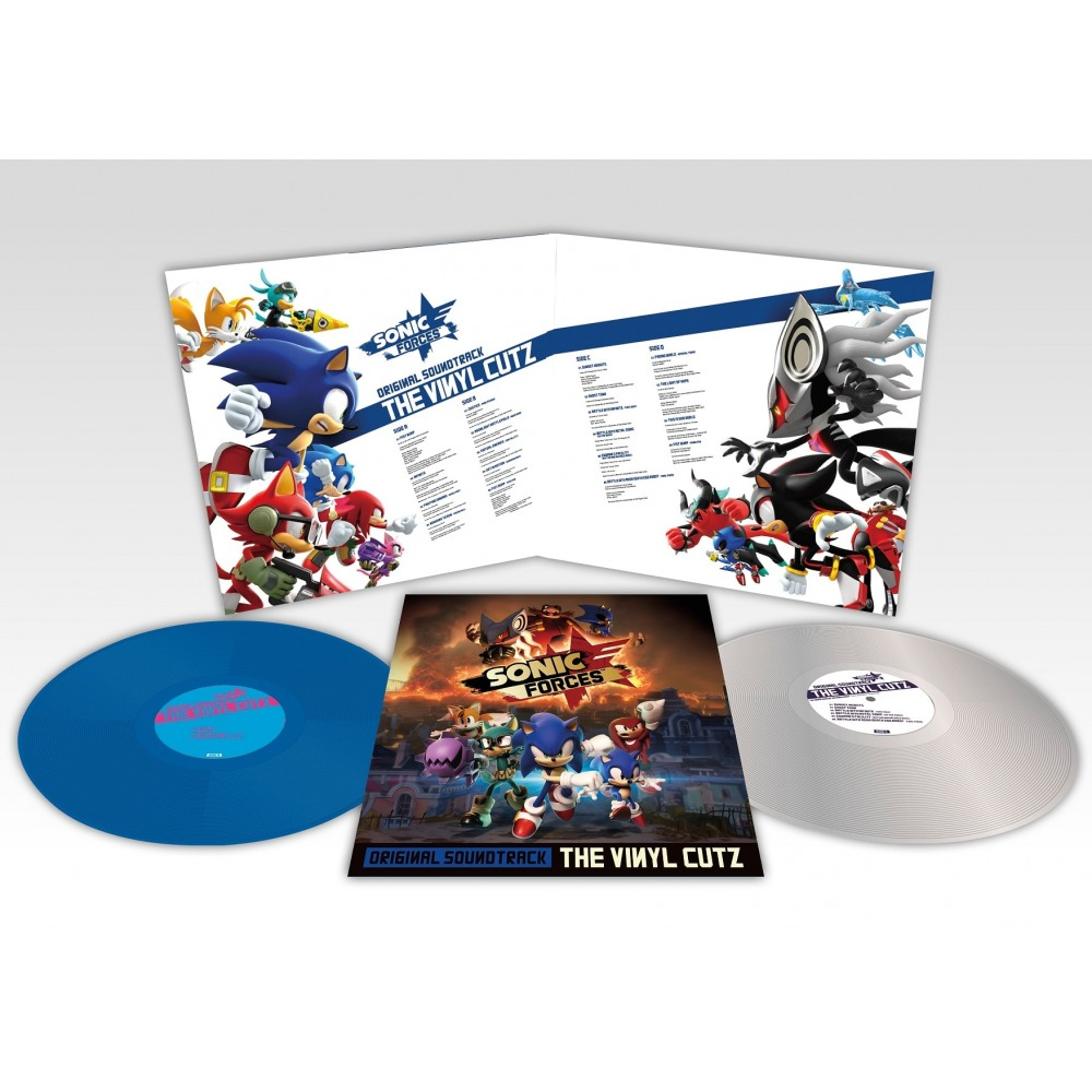 Sonic Forces - Gatefold
