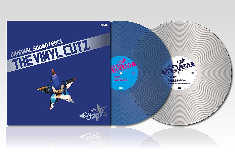Sonic Forces - Front & Vinyl