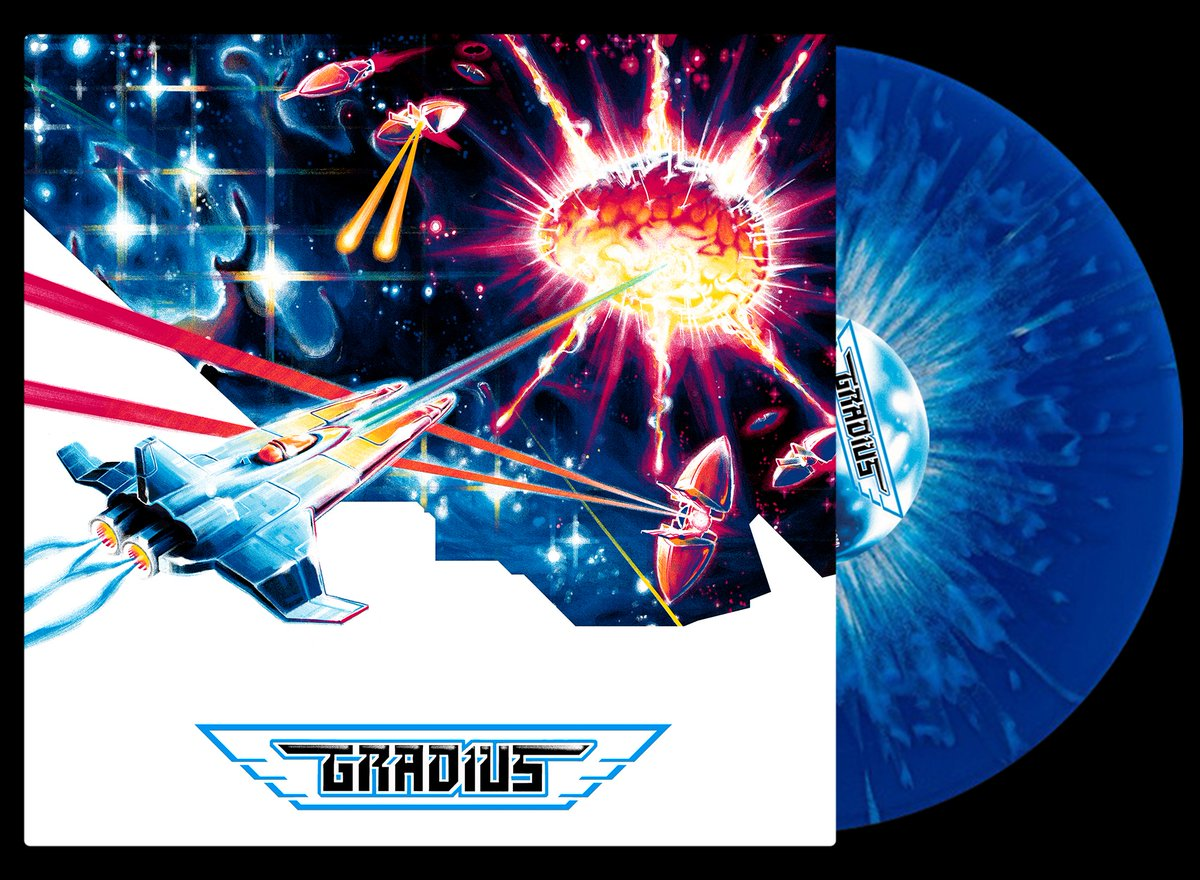 Gradius - Front & Record