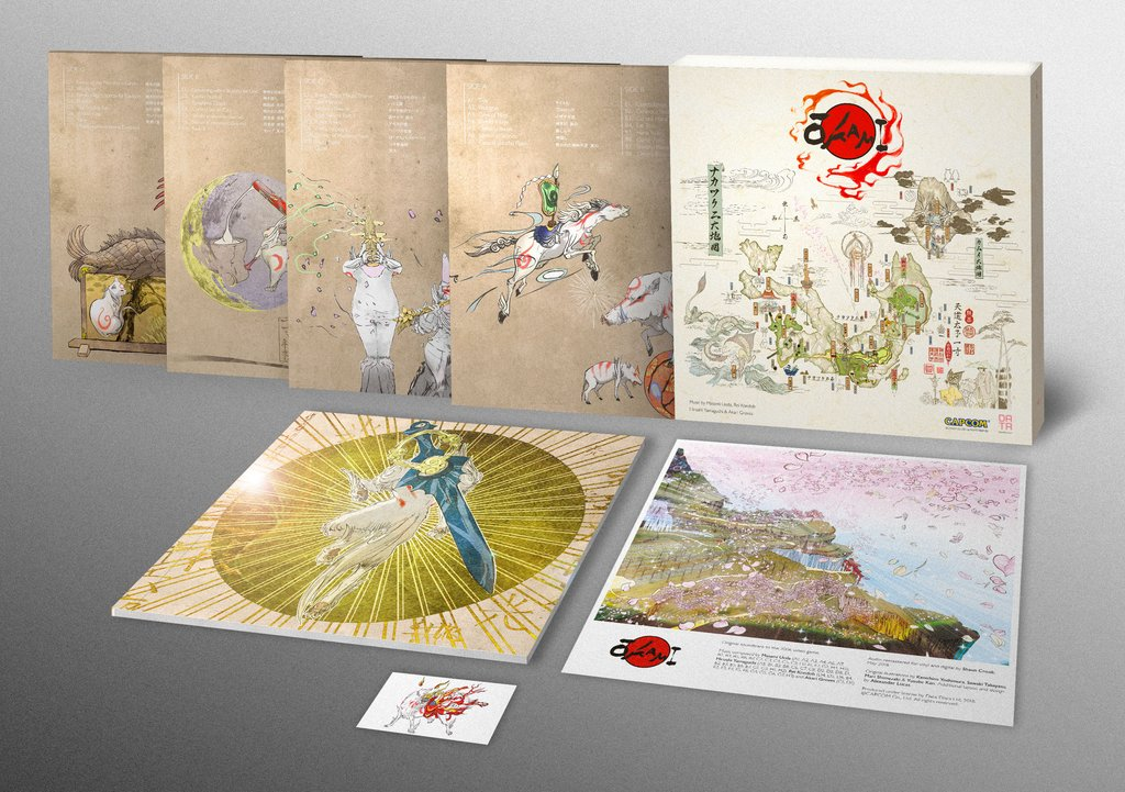 Okami - Box Set Back