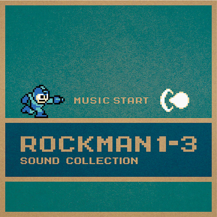 Rockman 1-3 Sound Collection - Front