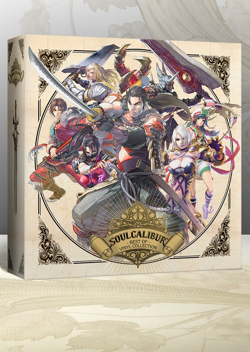 SoulCalibur Best Of - Box Front