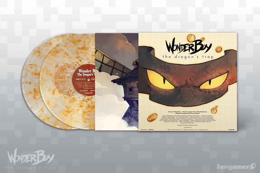 Wonder Boy: The Dragon's Trap - Back