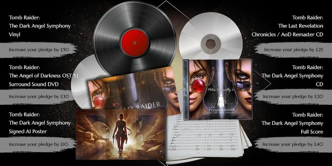 Tomb Raider: The Dark Angel Symphony - Mockup 2