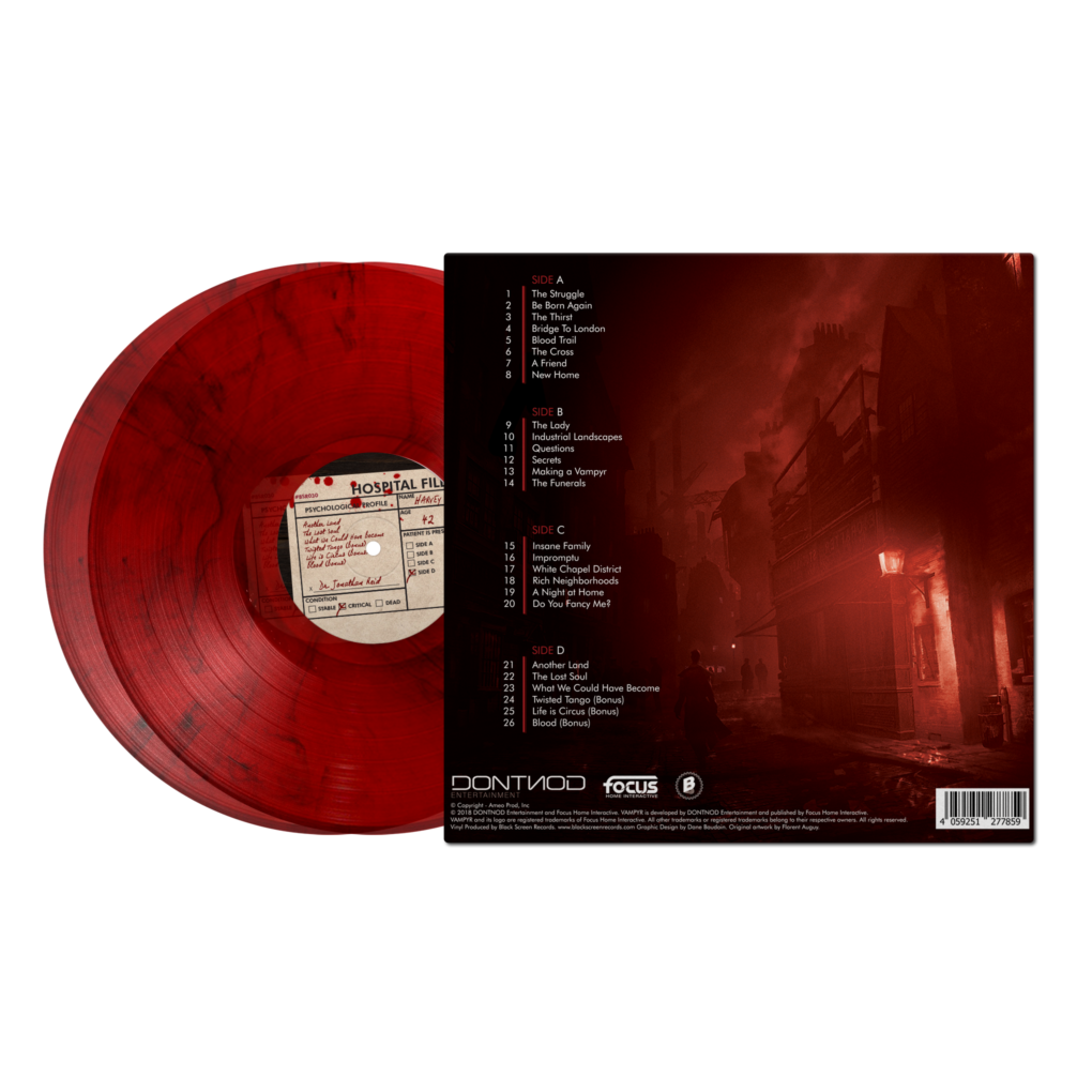 Vampyr - Marbled Back