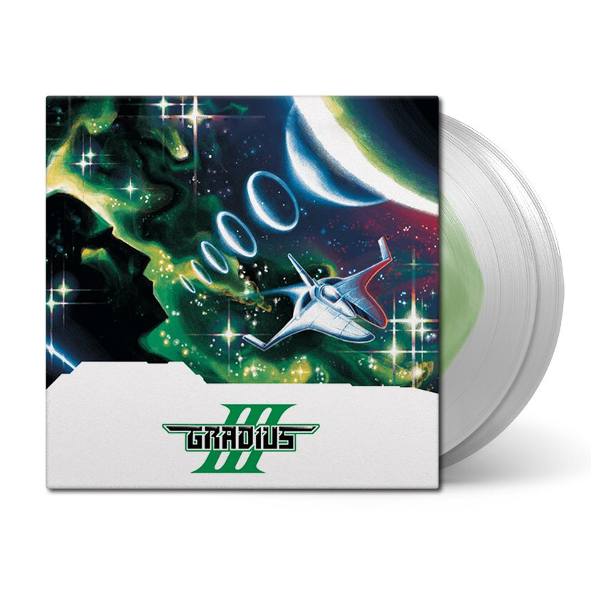 Gradius III - Front Black Screen Records