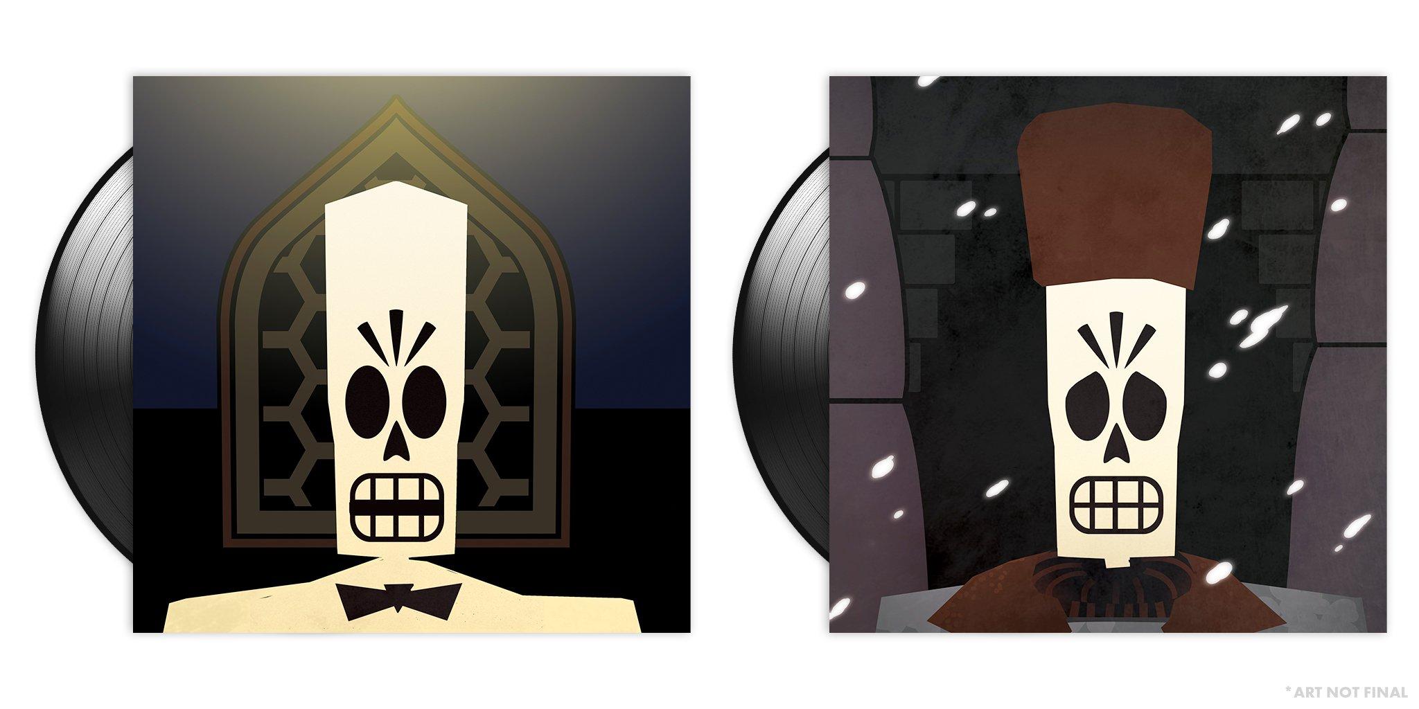 Grim Fandango - Inner Sleeves Back
