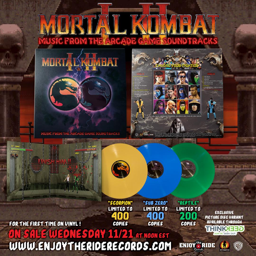 Mortal Kombat 1 & 2 - Promo