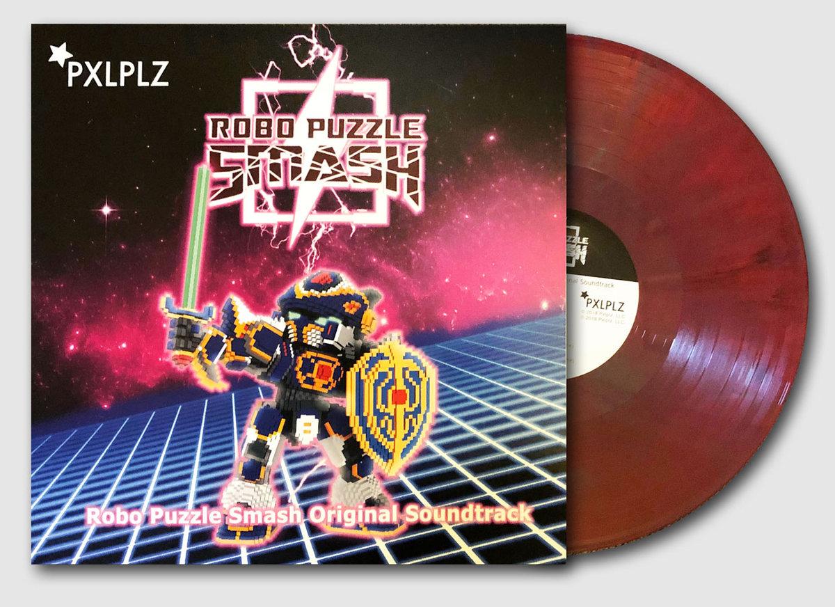Robo Puzzle Smash - Front + Vinyl