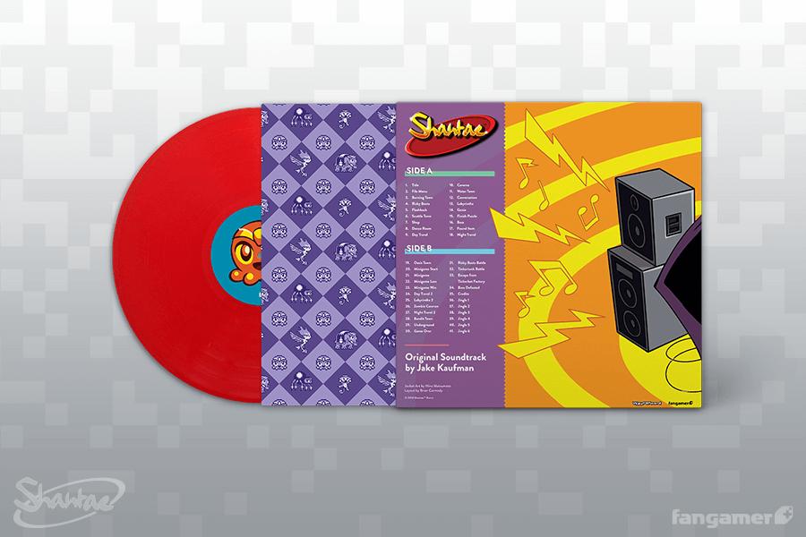 Shantae GBC - Back