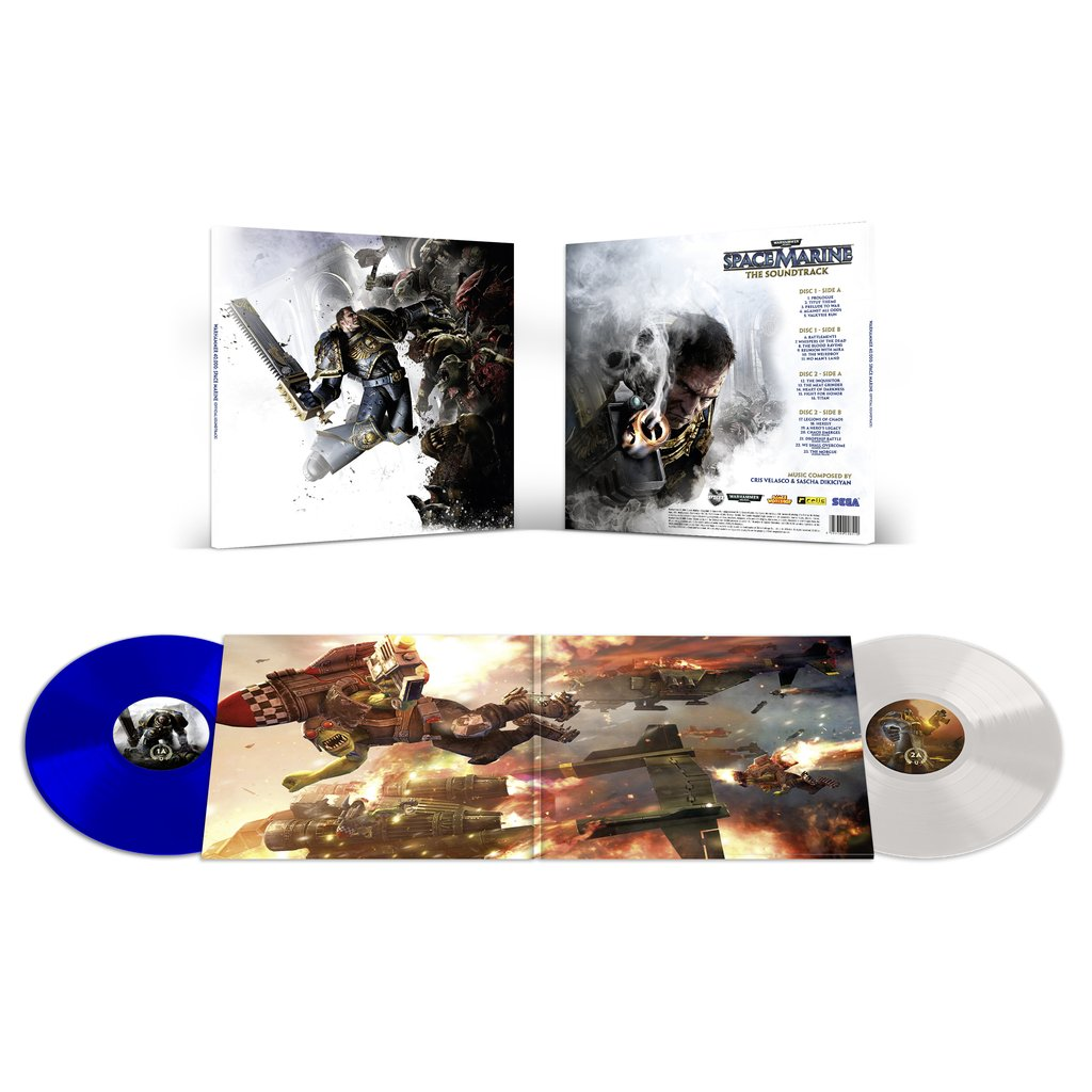 Warhammer 40,000: Space Marine - Gatefold