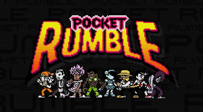 The Pocket Rumble vinyl OST can now be preordered from Yetee Records