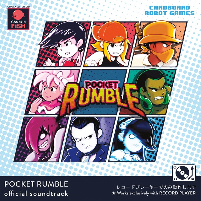Pocket Rumble - Front