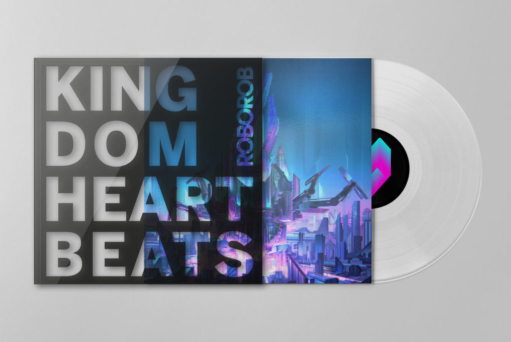 Kingdom Heartbeats - Front & Vinyl