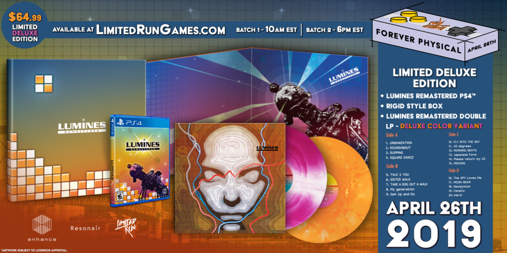 Lumines Remastered - Deluxe Edition